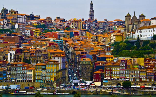 Pontos turísticos do Porto