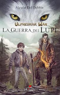 copertina Ulfhednar War La guerra dei lupi di Alessio Del Debbio