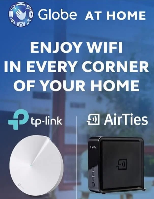 Enjoy Fast Internet Connection with Globe At Home WiFi Mesh Devices
