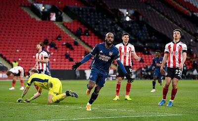 ملخص واهداف مباراة ارسنال وشيفيلد (3-0) الدوري الانجليزي