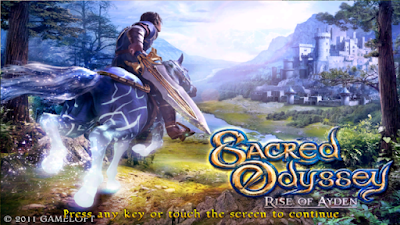 Download Game Android Gratis Sacred Odyssey: Rise of Ayden HD apk + data