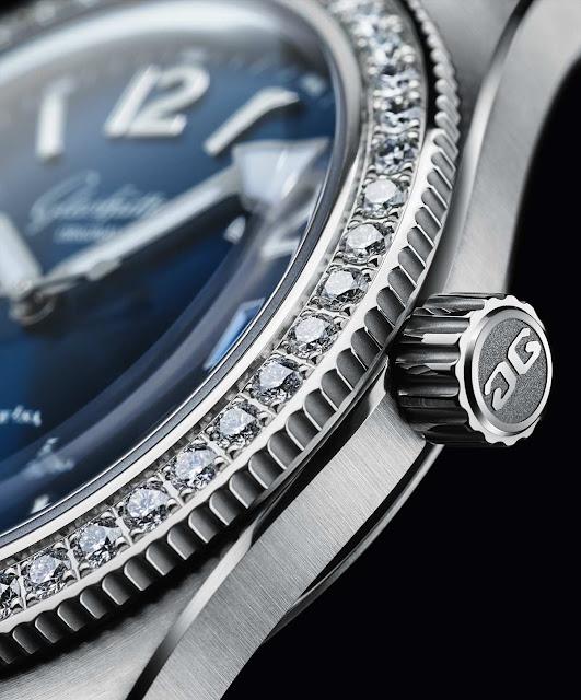 Glashütte Original SeaQ with diamonds 1-39-11-09-82
