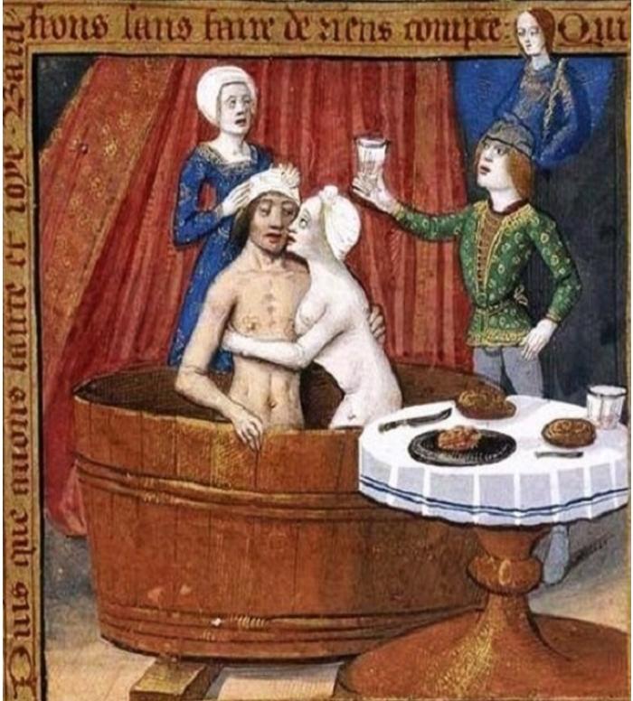 Сексуальные похождения в средних веках захотела пробовать