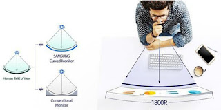 Monitor SAMSUNG 32 Inch Curved LED C32F391FWE