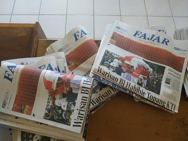 Oknum Anggota DPRD Bone Sebut Anggaran Koran di DPRD Mubasir