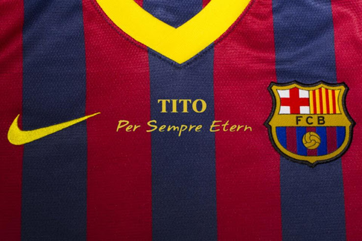 ccd02f683 FC Barcelona To Honour Tito Vilanova With a Special Kit - Footy ...