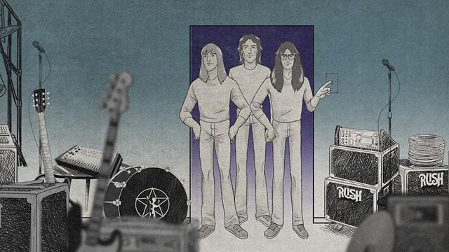 Το συγκρότημα Rush