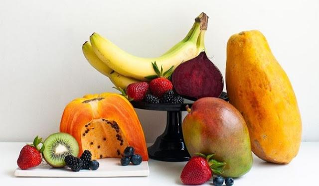 Buah buahan dan buah pepaya