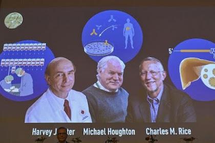 3 Ahli Raih Nobel Kedokteran, Temukan Virus Hepatitis C