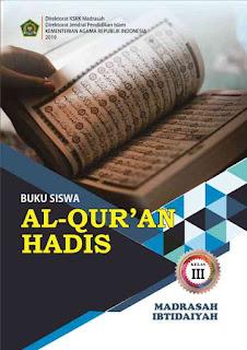 Buku Al Quran Hadis MI Kelas 3