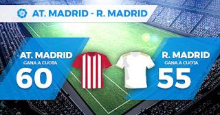 Paston Megacuota doble Atlético vs Real Madrid 28-9-2019