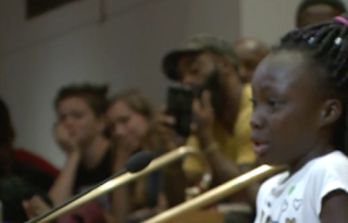 Young Girl Sobs And Scolds Charlotte City Council