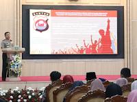 Kapolda Banten, Irjen Pol Drs Tomsi : Peran Pemuda dalam Menangkal Radikalisme dan Terorisme