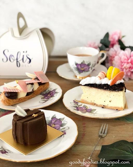 Sofitel KL mco takeaway menu desserts