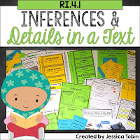 Making Inferences while reading- Activities and Lesson Ideas teaching students to make inferences