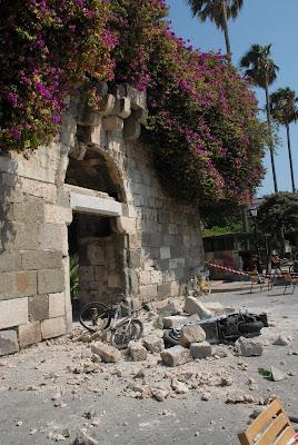 Σημαντικές ζημιές σε μνημεία και αρχαιολογικούς χώρους από το σεισμό στην Κω