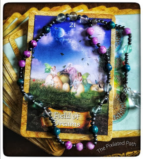 Field of Dreams card from The Enchanted Map Oracle