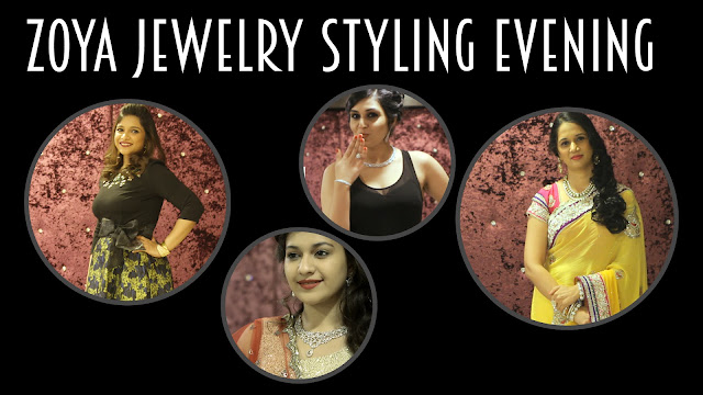 Zoya-jewellery-styling-evening-event-launch-styling-hosting-lace-collection-RitchStyles-wedding-cocktail-sangeet-look