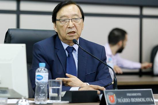 Mário Hossokawa (PP), presidente da Câmara de Maringá