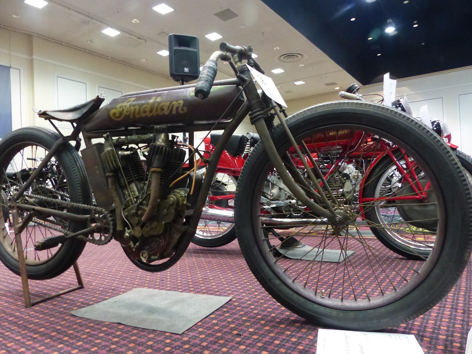 1970 Harley Davidson Evel Knievel Tribute: OldMotoDude: 1912 Indian Board Track Racer For Sale At The