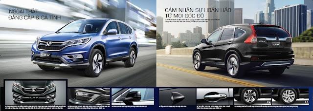 Honda Vung Tau Bien HoaGia xe City Civic CRV 2016 moi nhat
