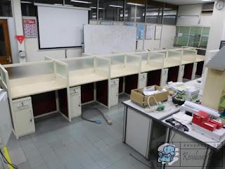 Furniture Kantor Meja Partisi 7 x 2 + Furniture Semarang ( Furniture Kantor )