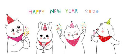Happy new year funny cartoon pictures