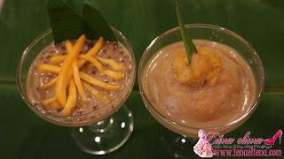 Pengat Nangka dengan Sago dan Serawa Durian dengan Pulut