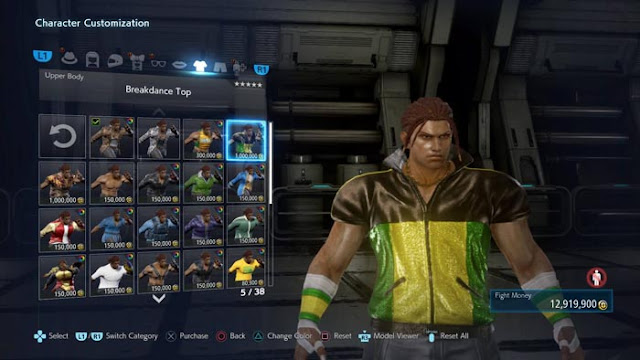 tekken 7 character customization