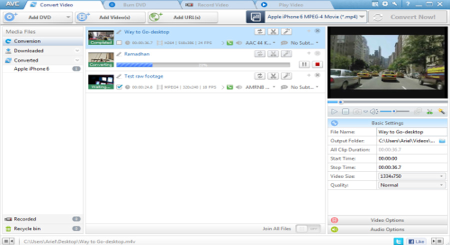 Free Download Any Video Converter