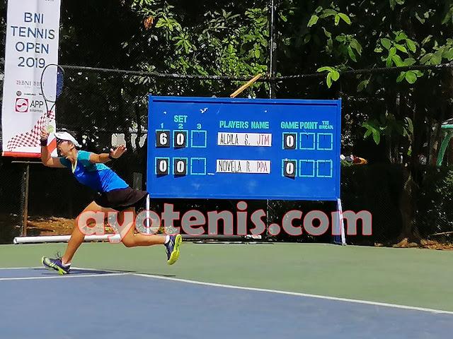 Aldila Melaju ke Semifinal Tennis Open di Jakarta