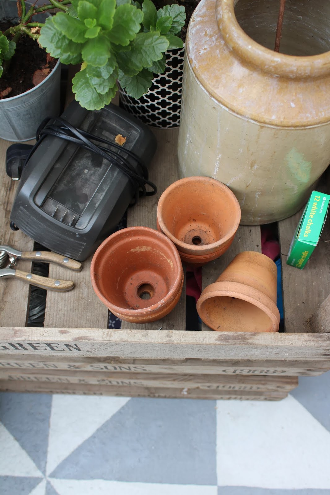 gardening storage ideas