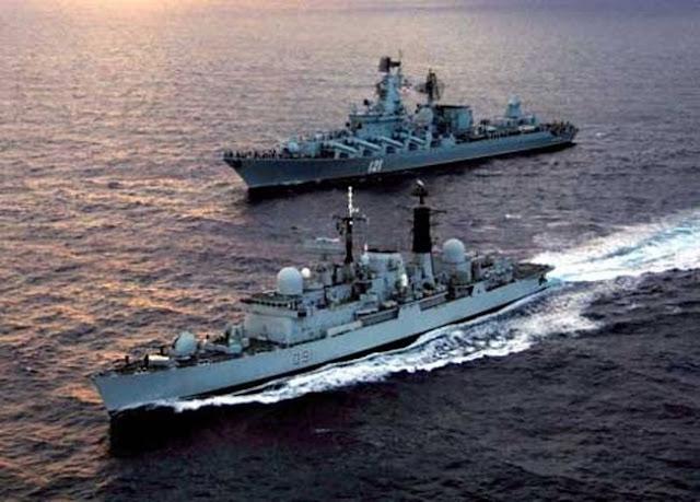 Πολεμικά ρωσικά πλοία έτρεψαν σε φυγή ένα υποβρύχιο του ΝΑΤΟ στη Μεσόγειο