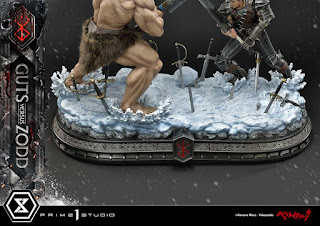 Berserk – Guts vs Nosferatu Zodd Diorama Statue, Prime 1 Studio