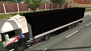 Plain Black trailer mod