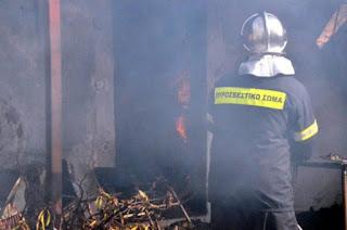Ιωάννινα:Φωτιά σε διαμέρισμα στην Κιάφα Μεγάλη κινητοποίηση της Π.Υ