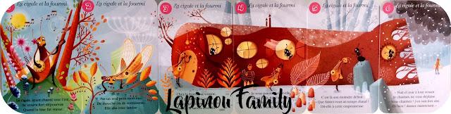 jeu de 7 familles fables de la fontaine