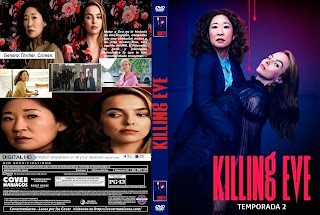 KILLING EVE – 2019 T2 [COVER – DVD]