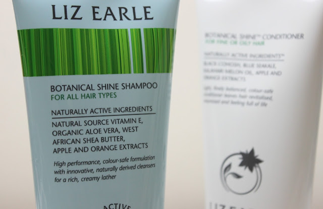 A picture of Liz Earle Botanical Shine Shampoo