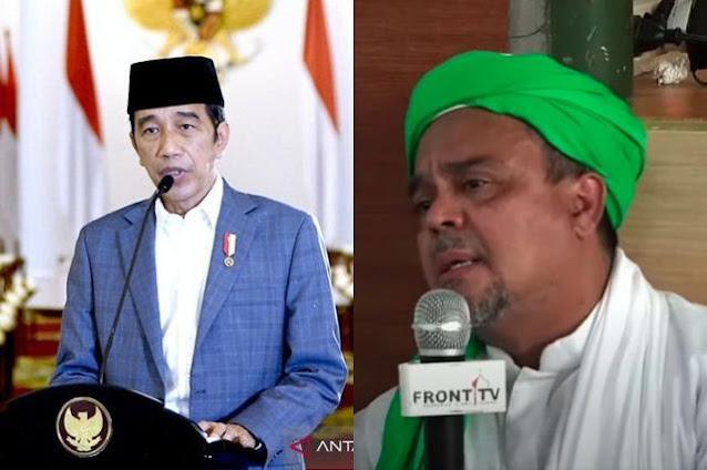 Habib Rizieq Diuber-uber Hasil Tes Covid-19, Jokowi Pernah Tegaskan Pasien Punya Hak Privasi