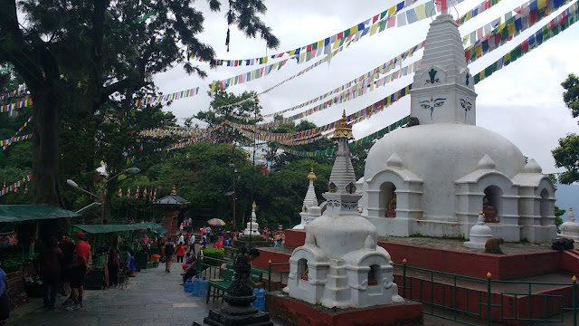 Stupas at the Temple