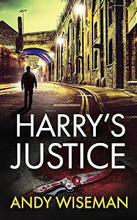 Photo of the book cover of Harry's Justice by Andy Wiseman