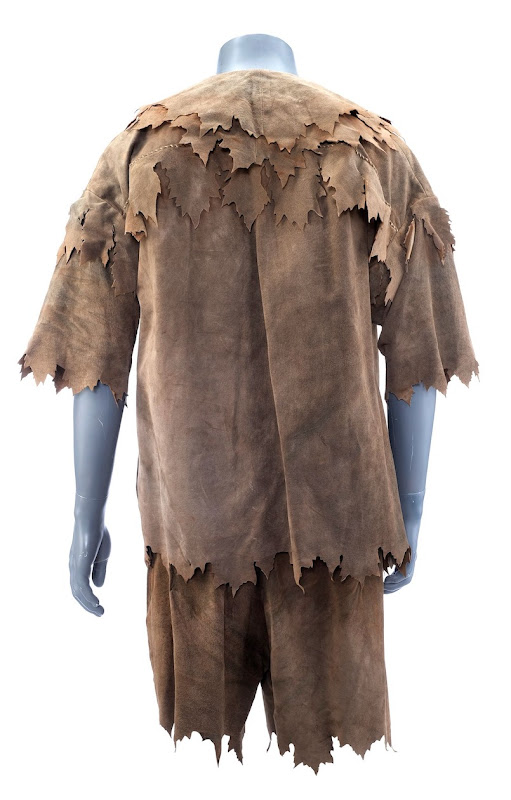 Robin Williams Hook Pan film costume back
