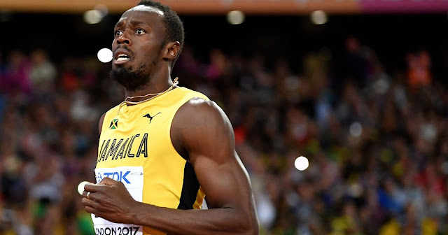 Usain bolt stunned by Justin Gatlin in his final 100m race