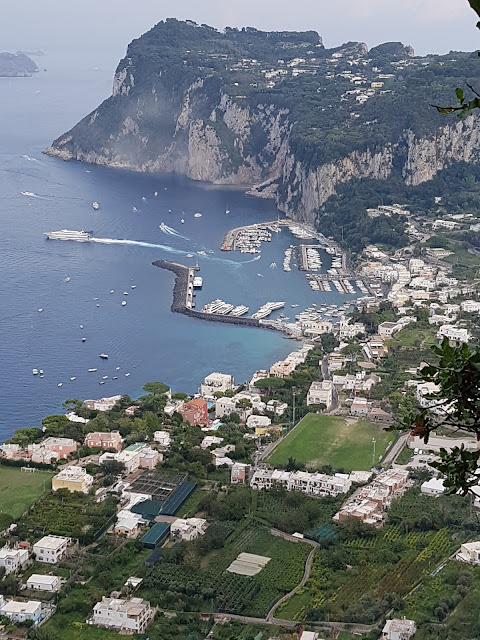 A VIEW OVER CAPRI FROM ANACAPRI