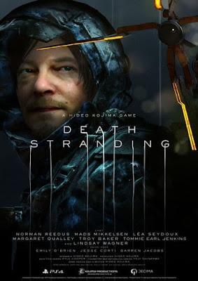 Capa do Death Stranding