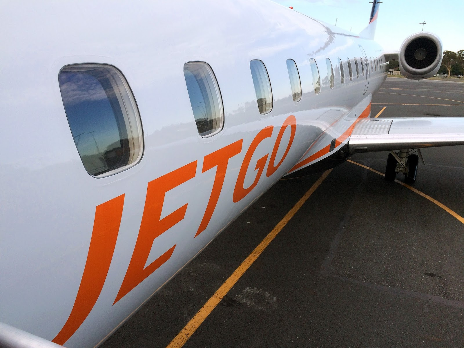 JETGO Australia Plane in Port Macquarie
