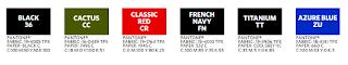 6 Colores disponibles: Negro, Verde Cactus, Rojo clásico, Azul Marino francés, Titanio y Azul Azure