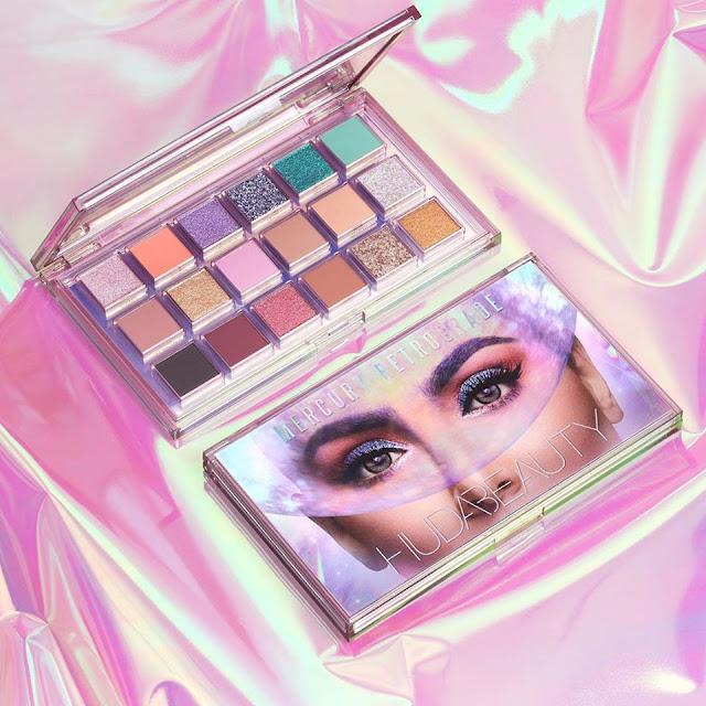 Mercury Retrogade palette de Huda Beauty