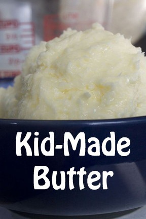 Kids Can Explore States of Matter by Making Butter